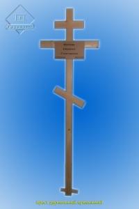 Крест деревянный временный